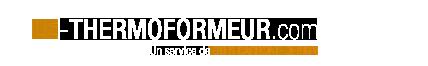 Logo Le Thermoformeur thermoformage  industriel des plastiques paris région parisienne ile de france